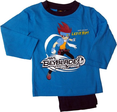 Beyblade Let It Rip Schlafanzug blau