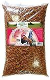 FERME DE BEAUMONT Vers de farine déshydratés 10 litres 1,5 kg - friandise protéinée volailles