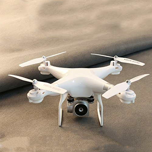 Bolange 2 milioni di quadricotometri HD 2.4G altezza fissa connessione WIFI drone giocattolo per bambini di Natale + clip del...