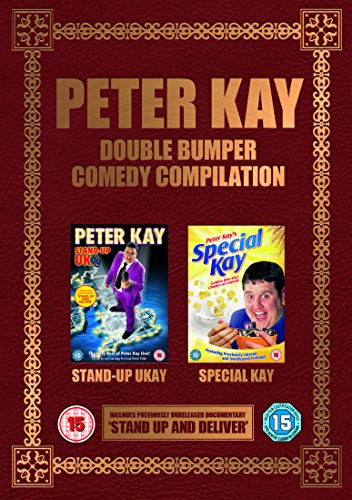 Peter Kay Double Bumper Comedy Compilation  DVD