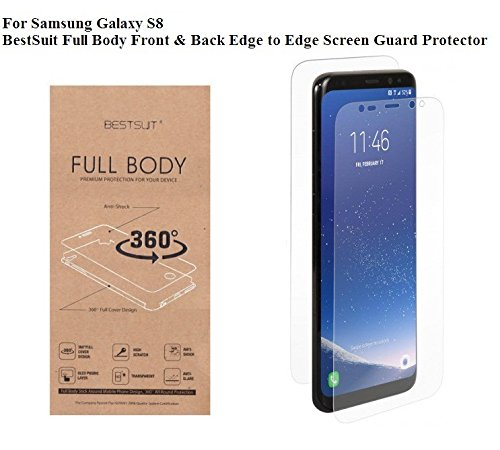 ST Creation Best Suit Full Body Edge to Edge Front and Back Screen Guard For Samsung Galaxy S8