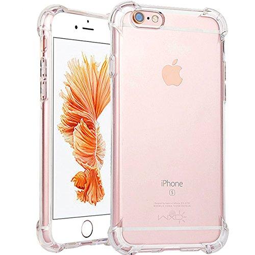 iPhone 6Plus Case, iPhone 6S Plus TPU Klar Schutzhülle, ibarbe 3Stück Heavy Duty High Impact Resistant Hybrid-Schutzhülle für iPhone 6Plus und iPhone 6S Plus - Gucci Card Wallet