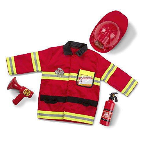 Imagen de melissa & doug  disfraz de jefe de bomberos 14834  alternativa