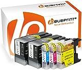 Bubprint 5 Druckerpatronen kompatibel für Brother LC-1280 XXL LC1280XXL LC 1280 XXL für MFC-J5910DW MFC-J6510DW MFC-J6710DW MFC-J6910DW BK/C/M/Y
