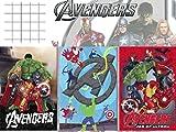 Quaderno Computisteria Supereroi Avengers A Rigo 1 elementare 80gr (5 pz)