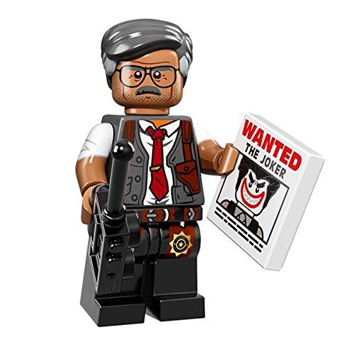 LEGO 71017 Minifigures Serie LEGO BATMAN MOVIE - COMMISSIONER GORDONTM Mini Action Figure (Batman Minifigur Movie Lego)
