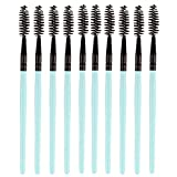 Makeup Brushes,Professionnelle Kits , 10Pcs Beauté Pliable Maquillage PoignéE en Bois Brosse à Cils Outil De Curling Naturel Makeup Brushes Brush Beauté Maquillage