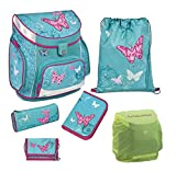Scooli Campus Up Schulranzen Set 5tlg. Butterfly