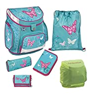 Campus Scooli P Cartable Set 5tlg. Butterfly