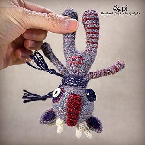 Sepi - Original Handmade Reindeer/Deer/Moose/Toy/Collectable/Gift/Charm