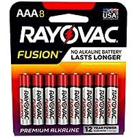 Rayovac Fusion Premium Alkaline Batteries 8/Pkg-AAA preisvergleich bei billige-tabletten.eu