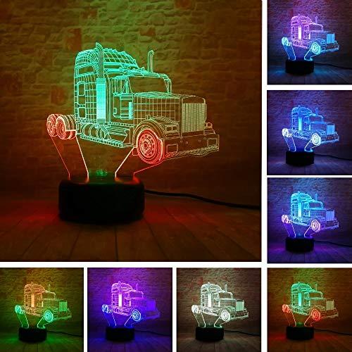 Neue Auto Mann Action Figure Mischfarbe 3D LED RGB Nachtlicht USB Touch Wohnkultur Kinder Jungen Weihnachtsgeschenk - Jungen Vorhang-panels