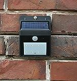 LED Solar Strahler mit IF-Bewegungsmelder Spot Solarleuchte Solarstrahler NEU