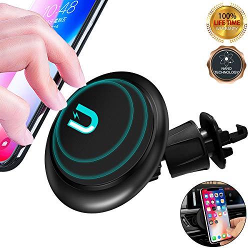 fürs Auto, handyhalterung Auto lüftung[Nano-Suction] KFZ Halterung für das iPhone 8 Plus Xs Max Xr und das Samsung Galaxy S10 Plus S10e sowie für alle Smartphones ()