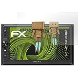 Sony XAV-AX100 Miroir Film Protecteur - atFoliX FX-Mirror Protection d'écran avec effet miroir