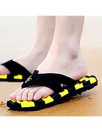 Xing Lin Sandales Pour Hommes L'Été Nouveau Tong Men'S Tongs Chaussures De Plage Plage Chaussons Anti-Dérapants Wasp Sandales Et Pantoufles Marée Hommes Bleu 39