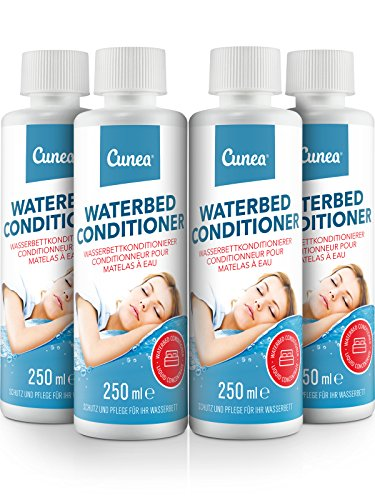 Wasserbett Conditioner für Wasserbetten 4X 250ml - Konditionierer kompatibel mit Allen Wasser Betten - Conditioner Weichmacher