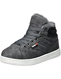 KangaROOS Unisex-Kinder Vuka Hohe Sneaker