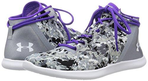 Under Armour Studio Lux Mid Cover Chaussures de sport pour femme grau / lila / weiß