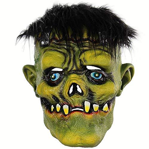 Kostüm Clown Weibliche Beängstigend - ZWX Halloween Joker Clown Kostüm Maske Creepy Evil Scary Clown Maske Erwachsene Geist Festliche Maske