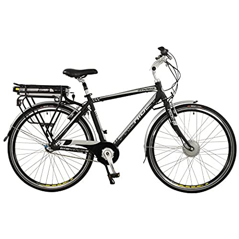 Dynamo Mens Lightweight Aluminium 3 Speed Nexus 700C Electric Hybrid City Bike