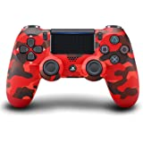 Controller wireless per PlayStation 4 (rosso mimetico) camouflage red