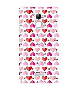 EPICCASE Couple love case Mobile Back Case Cover For Coolpad Note 3 Lite (Designer Case)