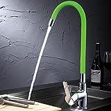 Utobe Grüner Silikon Universal Rohr Becken Wasserhahn Neue Wasserhahn Kupfer Küche Heißer und Kalter Wasserhahn