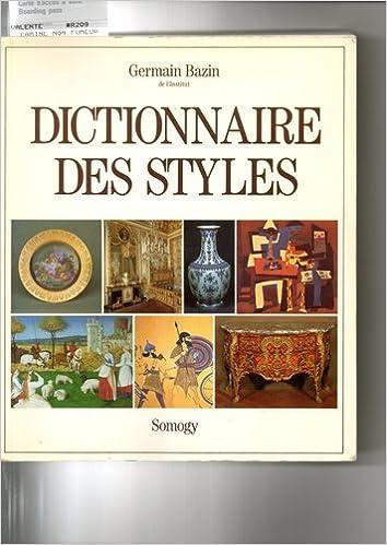 Téléchargement Dictionnaire des styles pdf