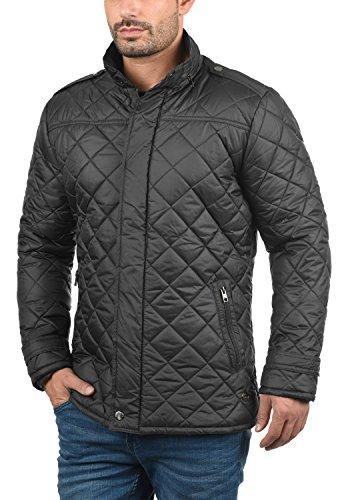 !Solid Safi Herren Steppjacke Übergangsjacke Jacke Mit Stehkragen, Größe:S, Farbe:Dark Grey (2890) - 2