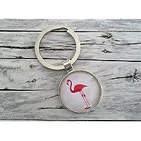Schlüsselanhänger, Flamingo