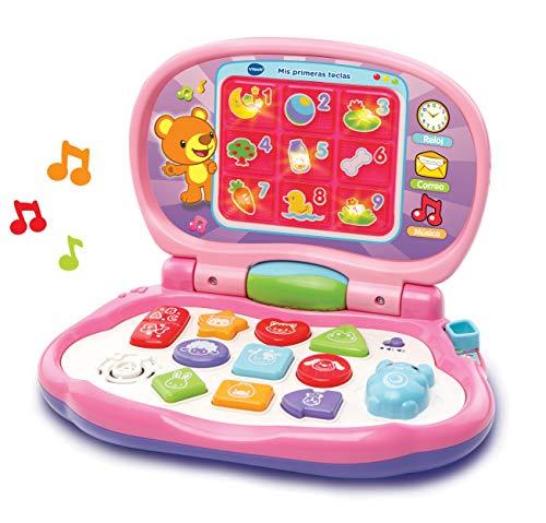 VTech-Mis primeras Teclas Ordenador Infantil con Tres Modos de Juegos Que enseña...