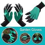 WEBSUN Garden Genie Handschuhe mit Klauen auf jeder Hand Waterproof Digging Handschuhe für die...