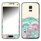 Disagu SF-106104_912 Design Skin für Samsung Galaxy S5 Mini - Motiv Mandala_Wirbel_rosa_halb