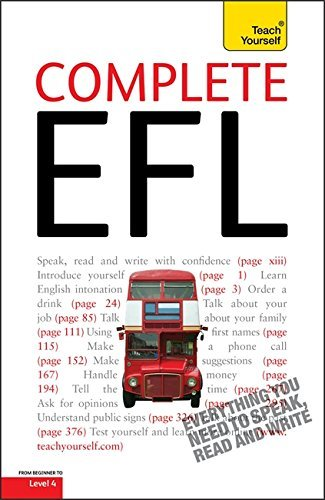 Complete English as a Foreign Language: Teach Yourself by Sandra Stevens (2010-07-30)