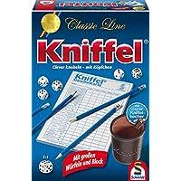 Schmidt-Spiele-49203-Classic-Line-Kniffel-mit-gr-Wrfeln-Block Schmidt Spiele 49203 Classic Line: Kniffel mit großen Würfeln & Block -