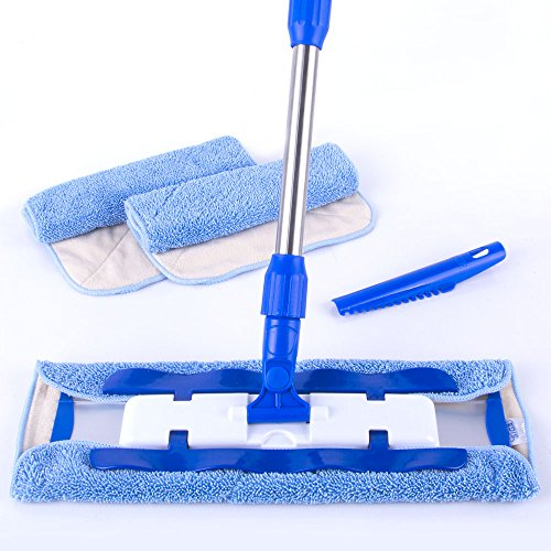 mr-siga-professional-microfiber-mop-included-3-microfiber-cloth-refills-and-1-dirt-removal-scrubber-