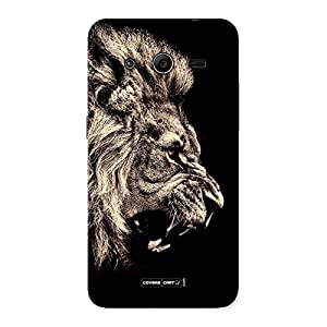 Neo World The Lion Danger Back Case Cover for Samsung Galaxy Core 2