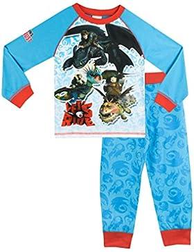 Dragons - Pijama para Niños - Cómo Entrenar a tu dragón