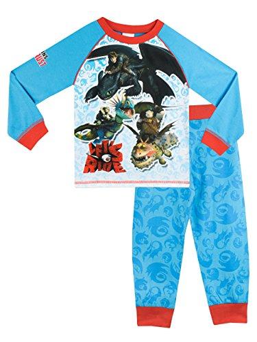 Dragons - Pijama para Niños - Cómo entrenar a tu dragón - 6 a 7 Años
