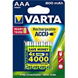 batterie rechargeable Varta Accu Ready2Use AAA Ni-Mh (4-pack, 800 mAh)