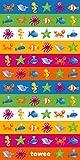Towee schnelltrocknendes Handtuch für Kinder, Kinder mikrofaser reisehandtuch SWIMKIT, 70 x 140 cm