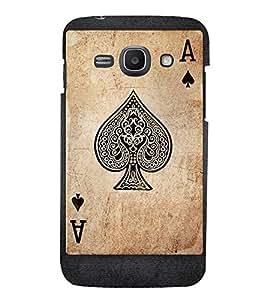 EPICCASE A Spade Mobile Back Case Cover For Samsung Galaxy Ace 3 (Designer Case)