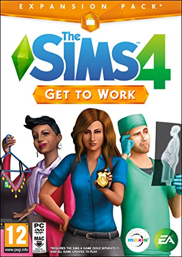 The Sims 4 Get To Work (PC DVD) Best Price and Cheapest