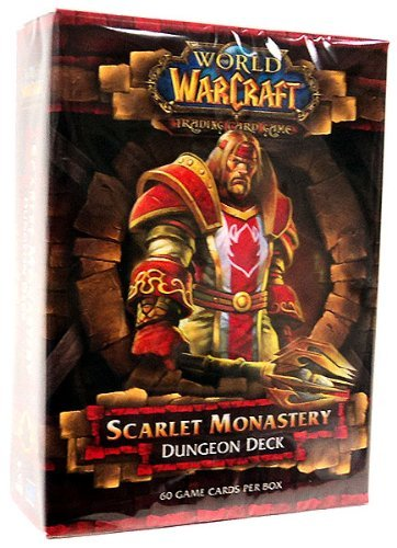 World of Warcraft TCG WoW Trading Card Game Dungeon Deck Scarlet Monastery (Trading Card World Of Warcraft)