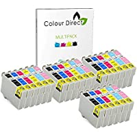 24 Colour Direct Compatible Ink Cartridges Replacement For Epson Stylus Photo R265, R285, R360 , RX560, RX585, RX685, P50, PX650, PX660, PX700W, PX710W, PX720WD, PX730WD PX800FW, PX810FW, PX820FWD Printers