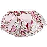 Culater® Bebé Volante Pantalones Bombachos Capas De Flores Faldas Vestido De La Danza Del NiñO