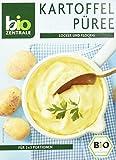 biozentrale Bio Kartoffelpüree | 2 x 80g Kartoffelpüree laktosefrei | Ideal als Kartoffelbrei Fertiggericht & als leckere Beilage für Hauptgerichte