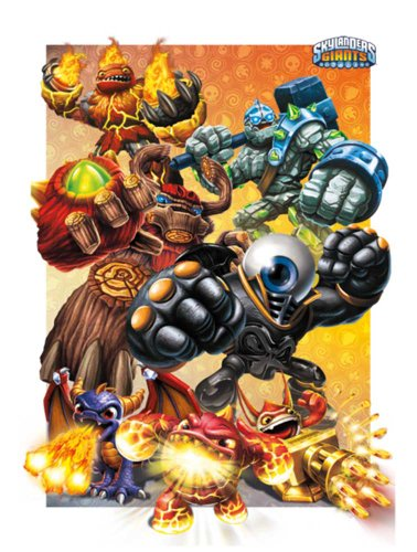 Empire merchandising skylanders giants jump and run jeu vidéo que 3D-poster-pression poster 47 x 67 cm