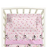 Lenzuola Minnie Disney Caleffi Minnie Fairy Culla Lettino Doghe Rosa